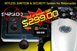 CLEARANCE SALE: DGD-KIM Keyless Ignition and Security System for Motorcycles