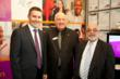 Australian Minister for Mental Health and Ageing, the Hon Mark Butler MP with RFWA Chair, Michael Cahill, and RFWA CEO, Joe Calleja at 2012ASPAC