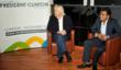 Young entrepreneur Vishal Misal (24) meets his hero Richard Branson at his March show Business 2012