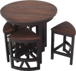 The Lacrosse Dining Set features an ingenious design.