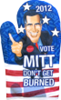 Romney Oven Mitt Transparent