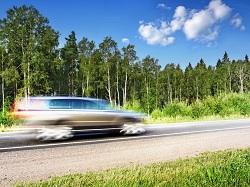 stuck accelerator speeding car