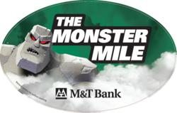 Monster Mile car magnet