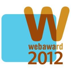 Web Marketing Association 2012 WebAward