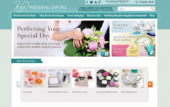 IDoWeddingFavors.com launched the new website design, which will serve its customers better.