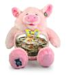 Piggy Bank Teddy Tank