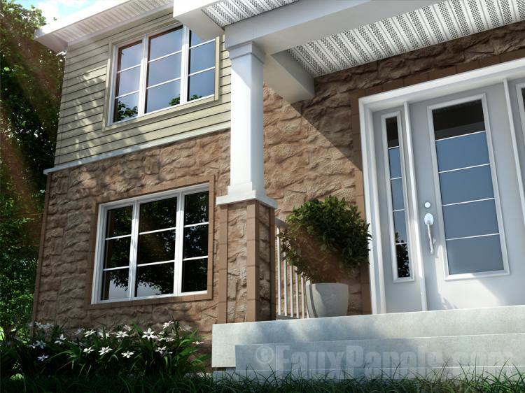 Fauxpanels Com Introduces Novi Fieldstone Plus Siding Panels
