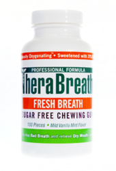 TheraBreath 100 Piece Sugar-Free Gum Package