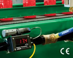 EXAIR's Digital Flowmeter with USB Data Logger