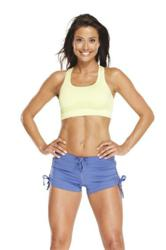 Melanie Sykes uses the Active Woman range to maintain an ageless figure.