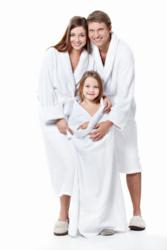 Follow us on Twitter and Enter to Win a Free Ultra Plush Bathrobe.