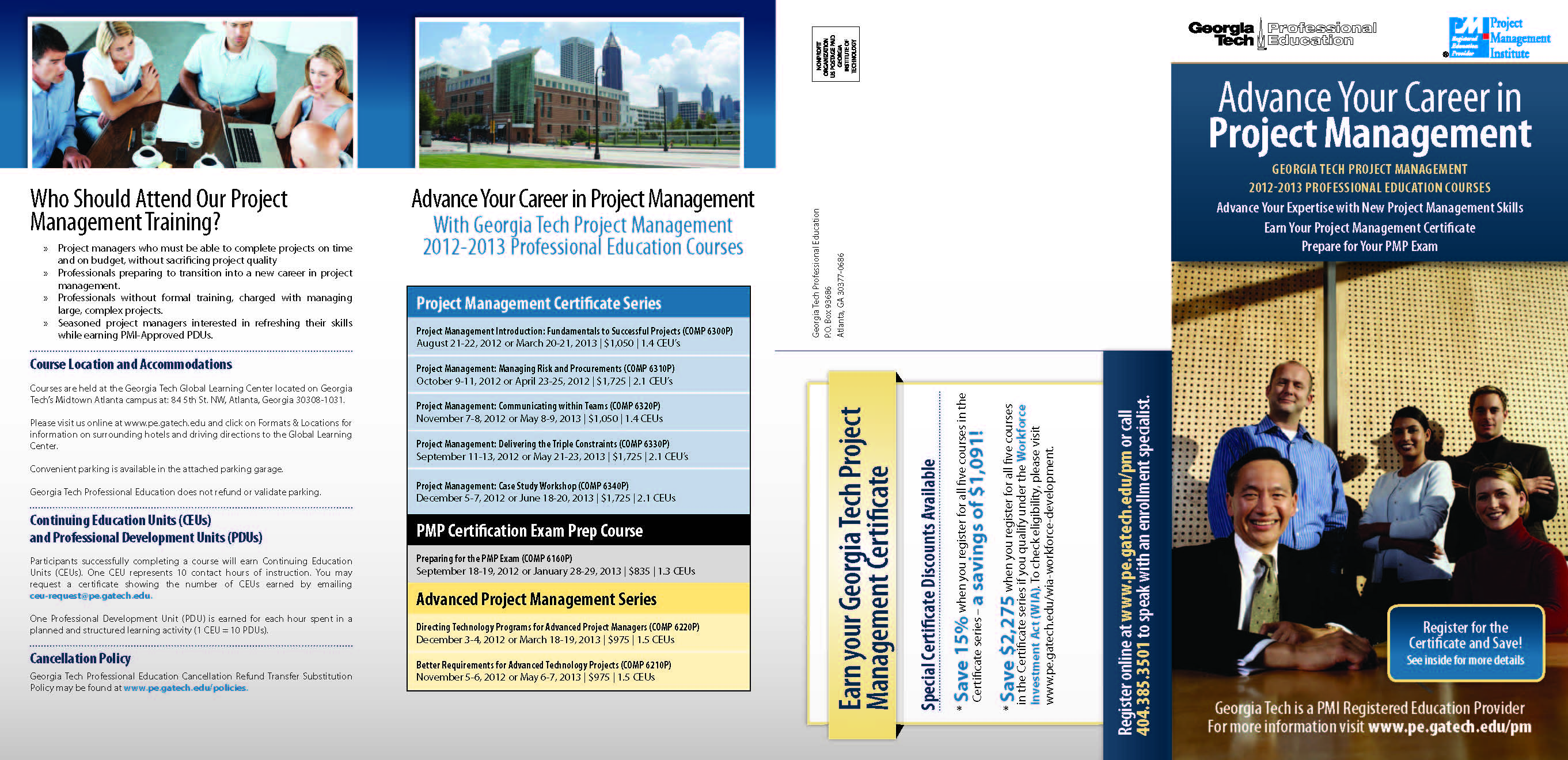 Project management professional - View Course Brochure