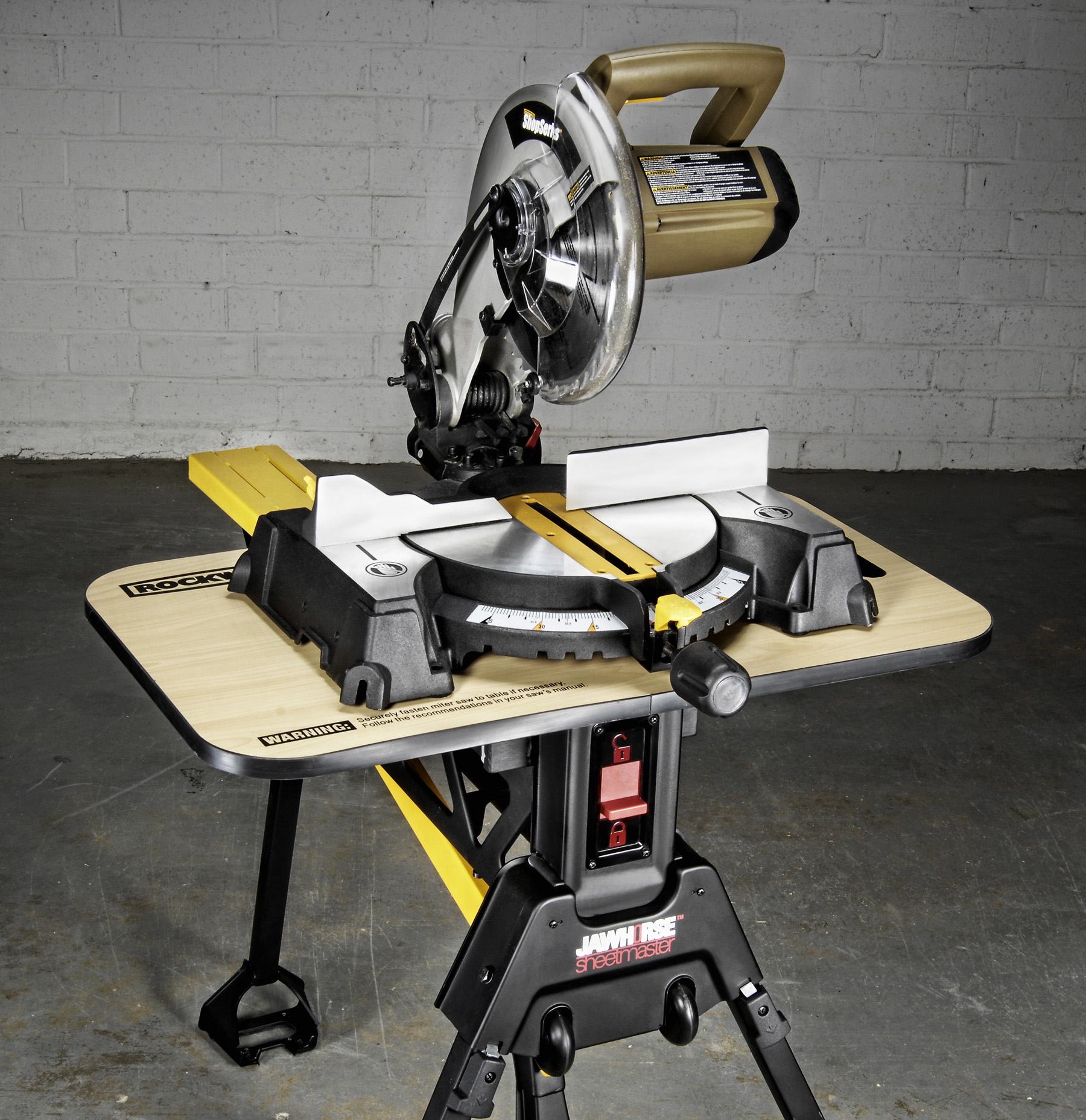 New Jawhorse Sheetmaster Rules As Rockwell S Latest Hands