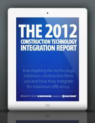 2012 Construction Technology Integration Report