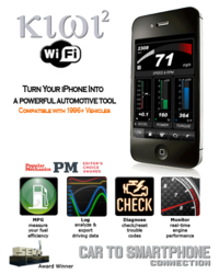 Kiwi 2 Wifi is a plug and play automotive tool