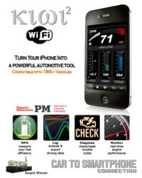 Kiwi 2 Wifi is a plug and play automotive tool