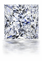 Princess Cut Cubic Zirconia Loose Stone