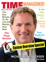 Issue 1 Cover of Time Management Magazine