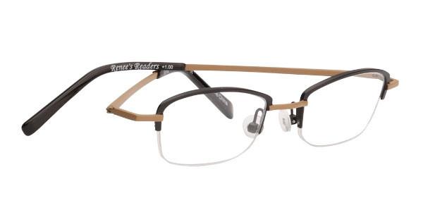 trendy reading glasses pn64  Media Large Frame Reading Glasses
