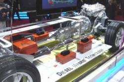 SsangYong engine display