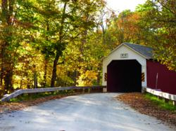 Covered Bridge In The Capital-Saratoga Region.  Credit:  Sara Kelly