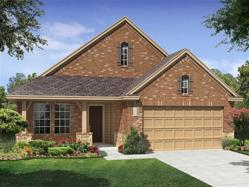 Austin new homes community, Sweetwater, offers this three-bedroom, two-bath home.
