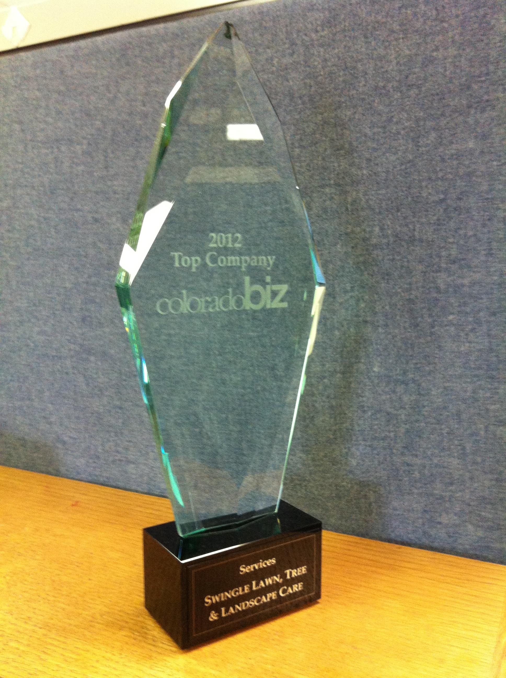 Swingle Named Top Company By Colorado Business Magazine