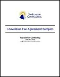 Top Echelon Contracting Offers Free Conversion Fee Agreement