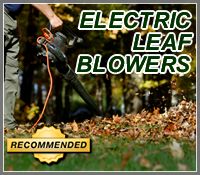 electric leaf blower, electric leaf blowers, corded leaf blower, corded leaf blowers