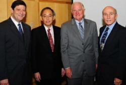 Alan Willner, Steven Chu, Craig Barrett, Paul McManamon
