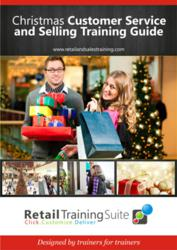Retail sales training package for Christmas trading