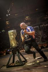 Arden Cogar Jr., an attorney from West Hamlin, W.Va. represents the US in the 2012 STIHL TIMBERSPORTS Series World Championship in Lillehammer, Norway.