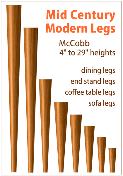 Tablelegs.com Triples Output of Mid-Century Modern Legs
