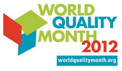 World Quality Month 2012