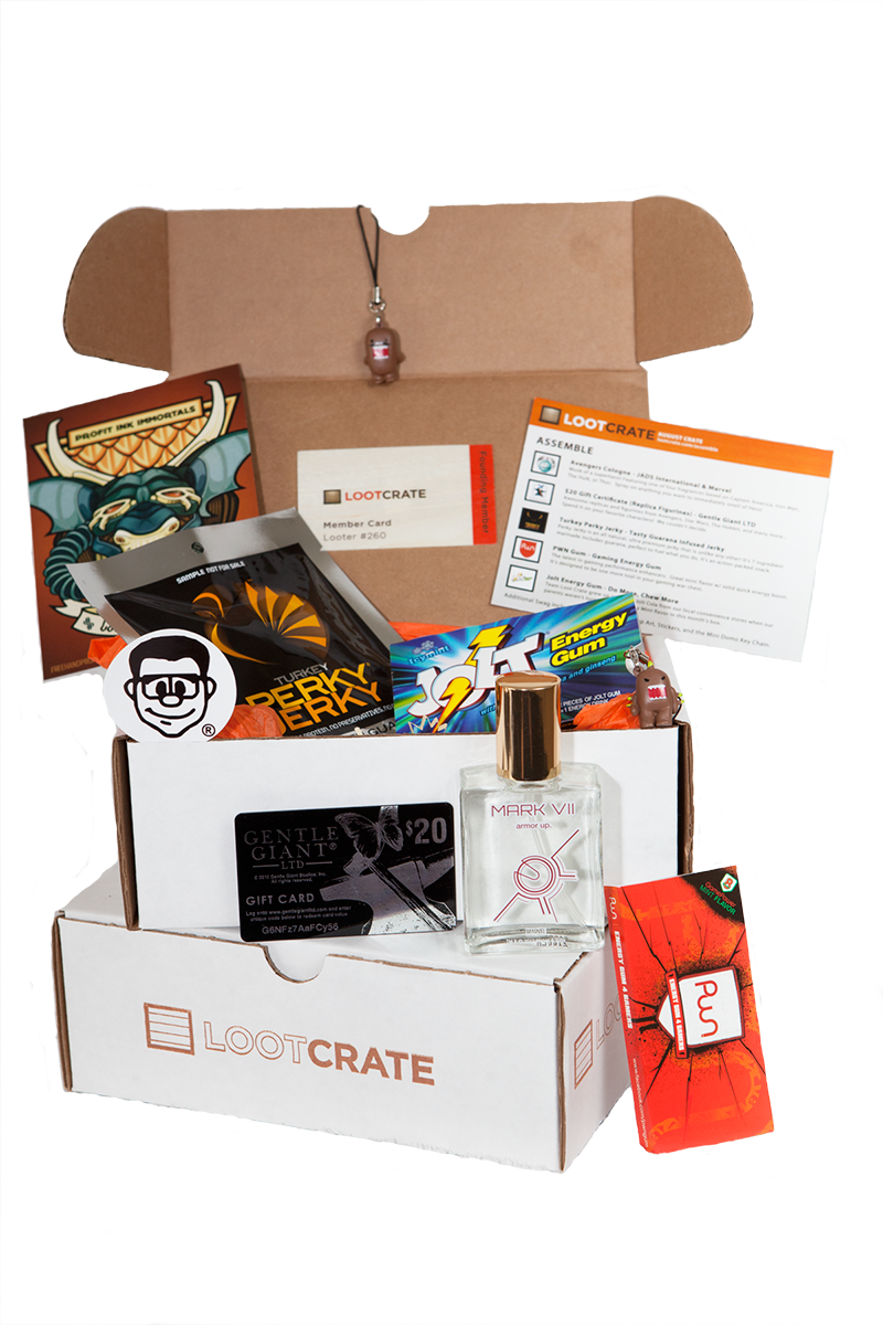Loot Crate Launches First Monthly Subscription Box for Geeks and ...