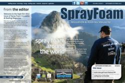 spray polyurethane foam sprayfoam insulation roofing magazine around the world growth readership digital