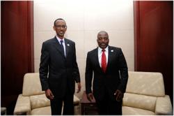 Paul kagame and kabila