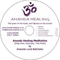 Ananda Healing Holistic Therapies Guided Meditation CD