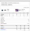 NFL BoxScore