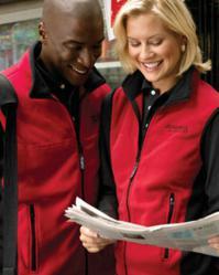 Chestnut Hill CH960 Polartec® Colorblock Fleece Full-Zip Vest