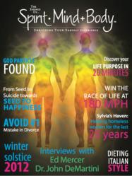 The Essence of Spirit Mind Body  ipad Magazine