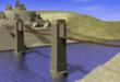 Computer Rendering of the Bridge at Yaxchilan on the Usumacinta River