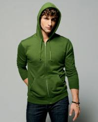 Canvas 3705 Men's 7.5 oz. Hooded Fleece Sweatshirt