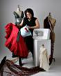 Joi Mahon appearing at American Sewing Expo
