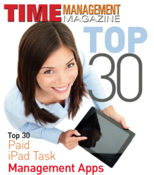 Top 30 Paid iPad Task Management Apps Article in Time Management Magazine