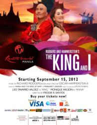 The King and I invited by Resorts World Manila