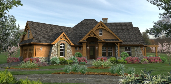 2012 s best selling house plans from the house designers for Best selling craftsman house plans