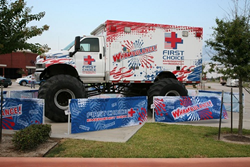 The First Choice Emergency Room Whambulance Monster Truck