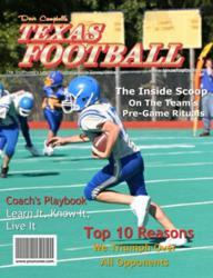 Dave Campbell's Texas Football Personalized Magazine Cover