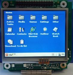 "3.5"" LCD, display adapter board, TSCM computer, and I/O board"